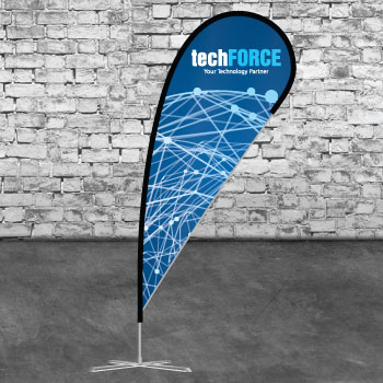 Best Quality Teardrop Banners From Asset Print