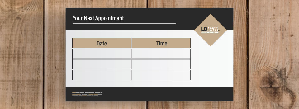 Choose Asset Print for affordable appointment cards on excellent timelines.