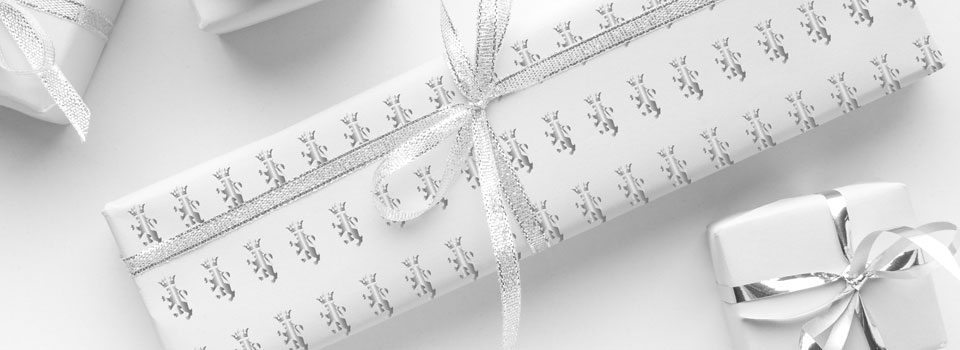 Affordable, customised print wrapping paper