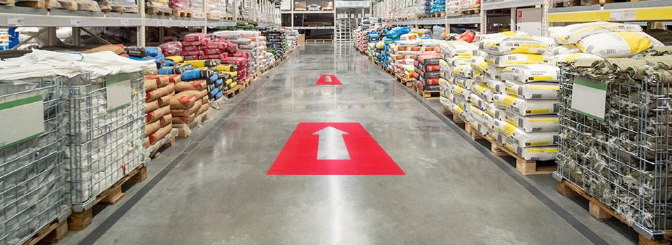 Asset Print custom floor decals