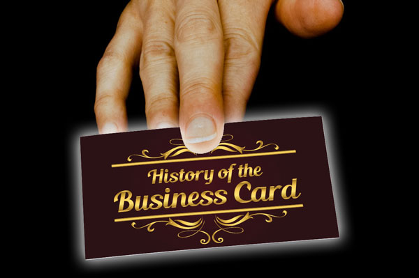 A short history of the business card the 90 x 50 mm history of the business card reheart Choice Image