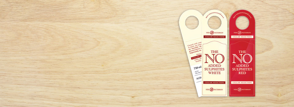 Gift tags and Neck Tags from Asset Print